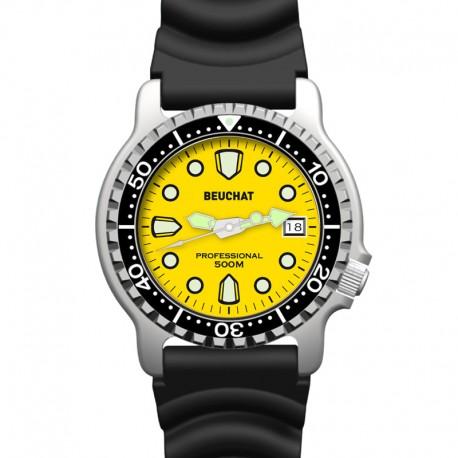 Montre Lumitech 500 jaune