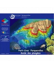 Plaquettes immergeables guide de plongée à Port Cros et Porquerolles