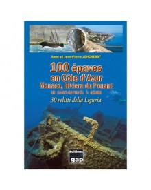 Livre 100 belles plongées en Côte d'Azur Tome 2