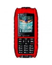 Téléphone Crosscall Shark v2 rouge