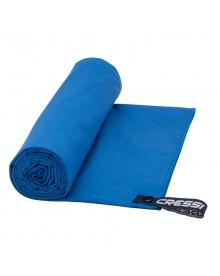 Serviette microfibre bleu Cressi