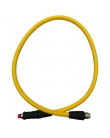 Flexible MP tressé jaune