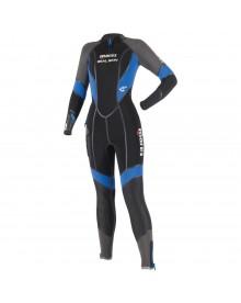 Monopièce Seal Skin 6mm she dives avec cagoule Mares