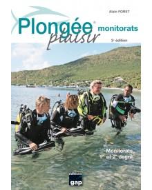 Livre Plongée Plaisir Monitorats éditions Gap