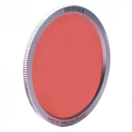 Filtre rouge 37mm Divevolk