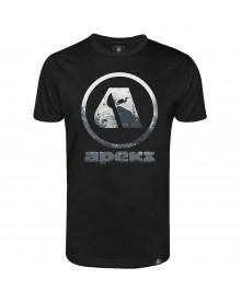 T-shirt Apeks noir