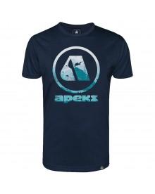 T-shirt Apeks navy