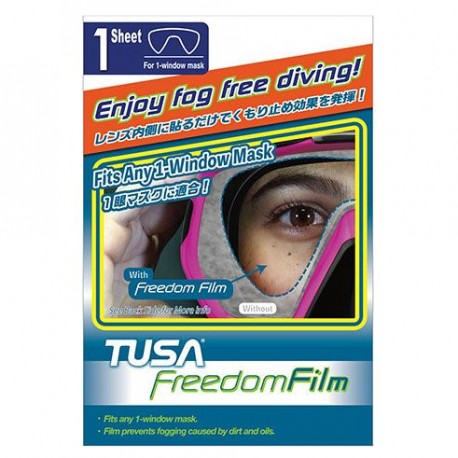 Film antibuée monoverre Tusa