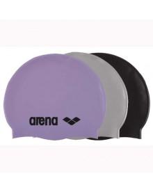 bonnet silicone classic logo Arena